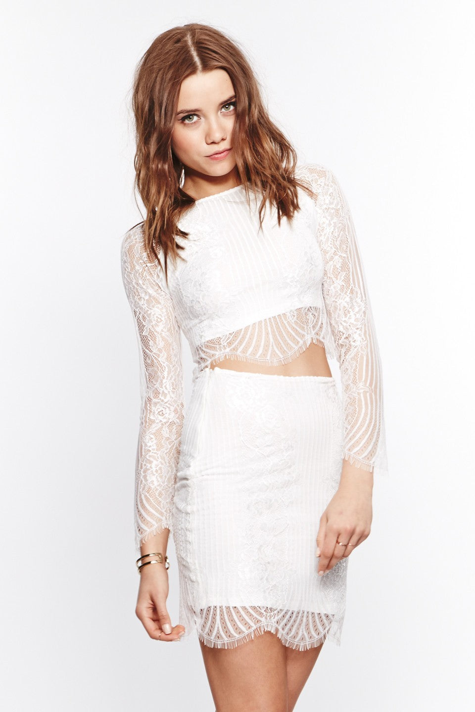 Lolo Crop Top - White