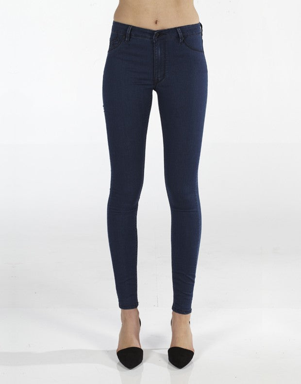 Kitty Skinny Jean -Jack Rabbit Indigo