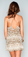 Dez Drape Dress - Rattlesnake