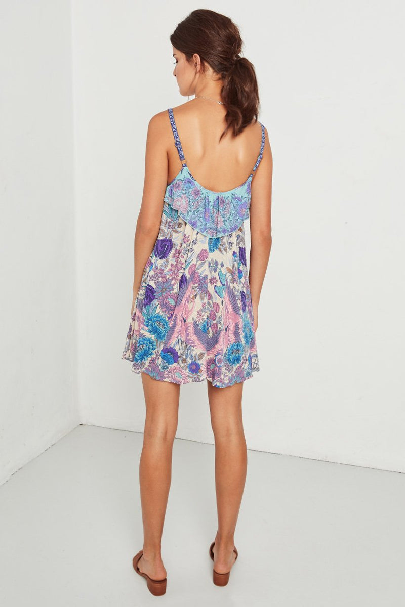 Siren Song Mini Dress - Mermaid (2761487679552)