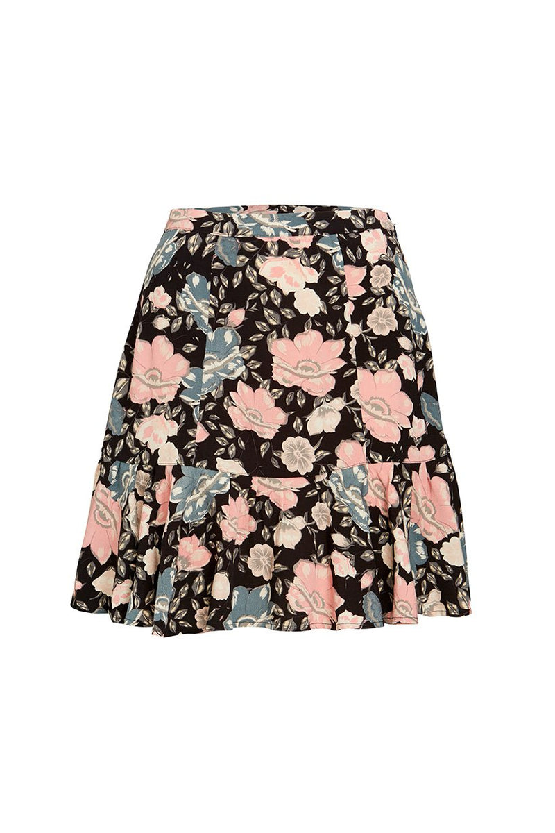 Winona Mini Skirt - Coal (2761479323712)