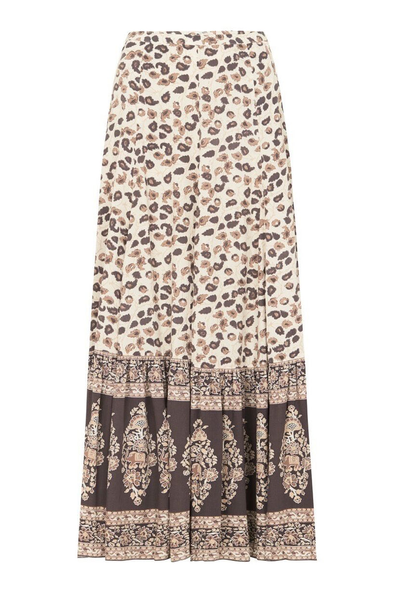 Delirium Maxi Skirt - Cream