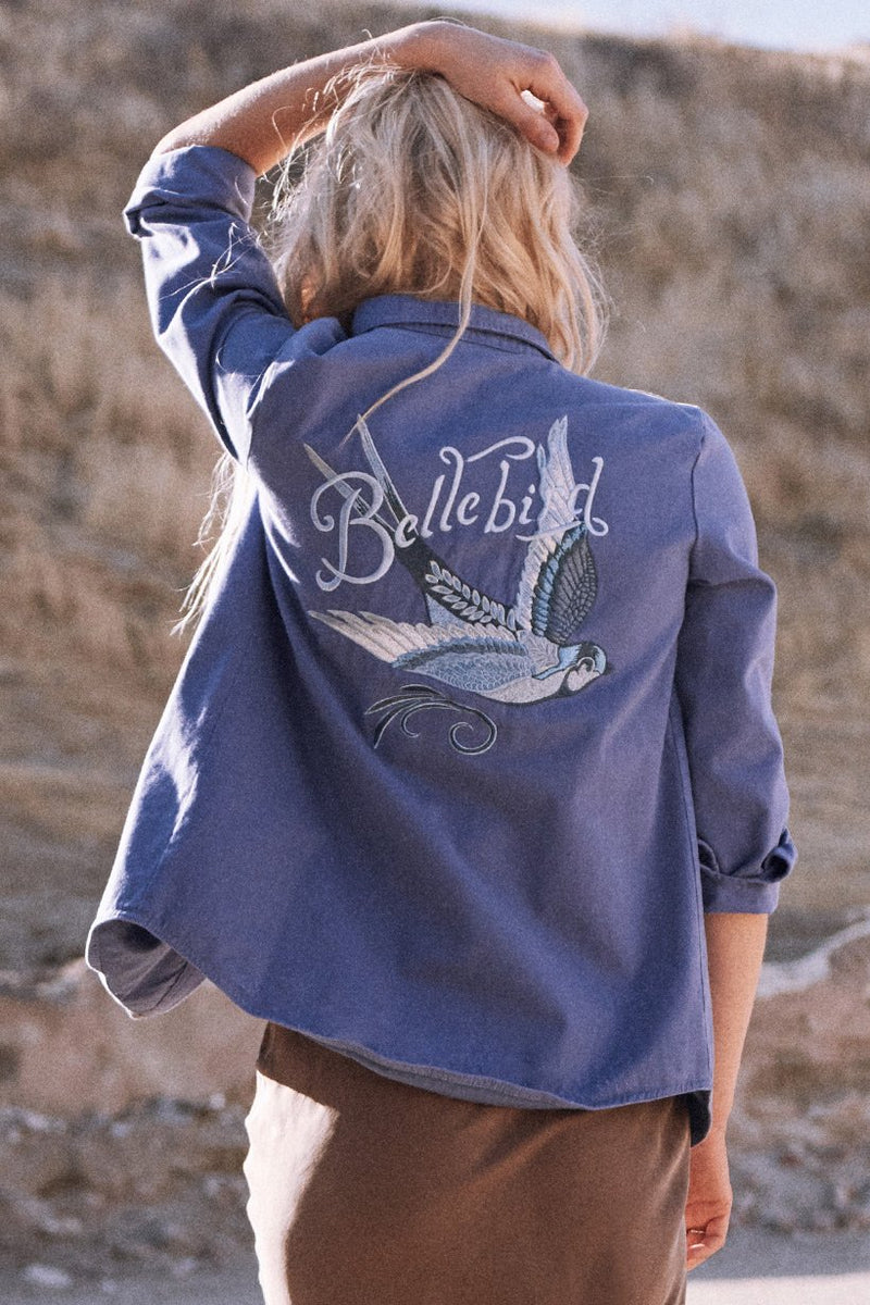 Blue Belle Chambray Jacket