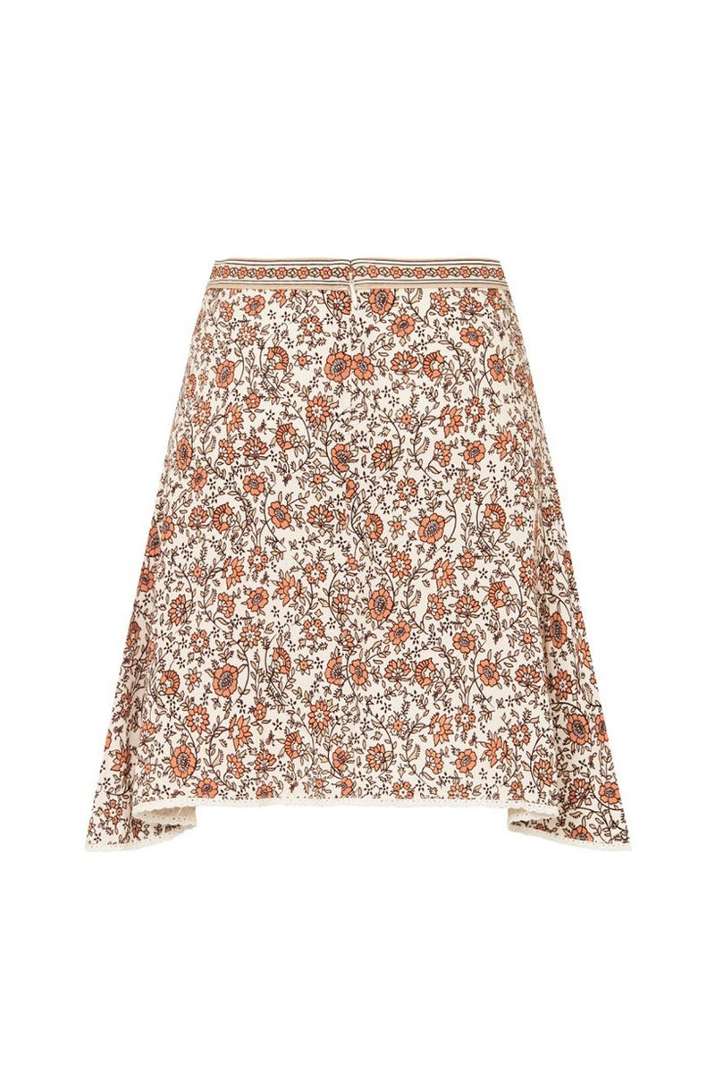 Jasmine Mini Skirt - Cream