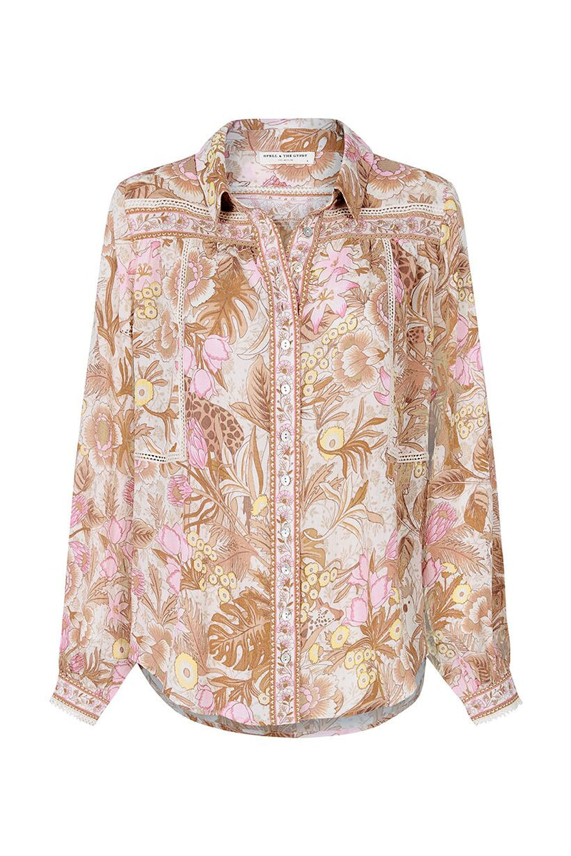 Jungle Blouse - Cream