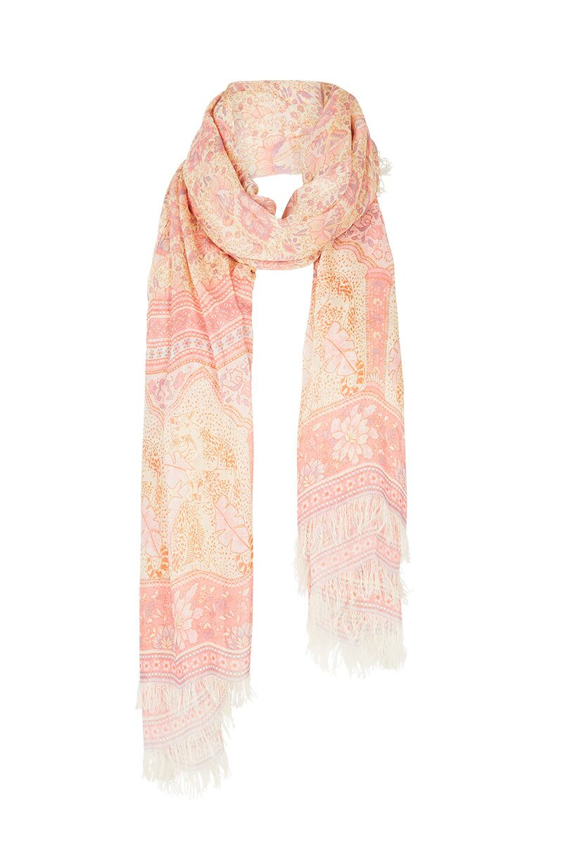 Poinciana Travel Scarf - Cotton Candy