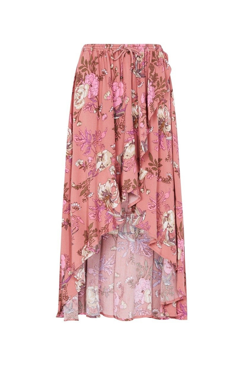 Rosa Wrap Skirt - Blush (2761668198464)