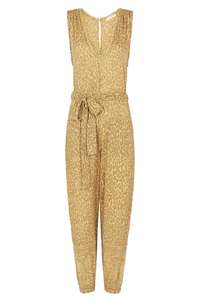 Wild Thing Jumpsuit - Mustard