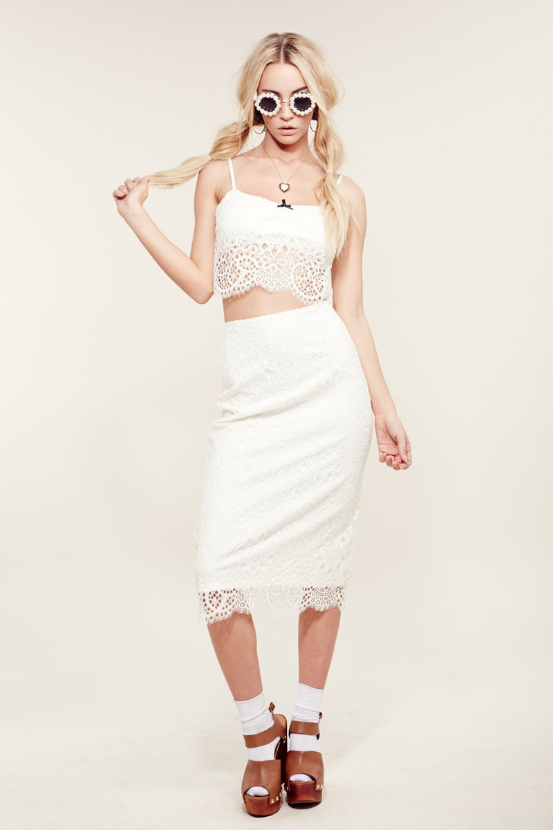 Holly Crop Top in White (2760209989696)