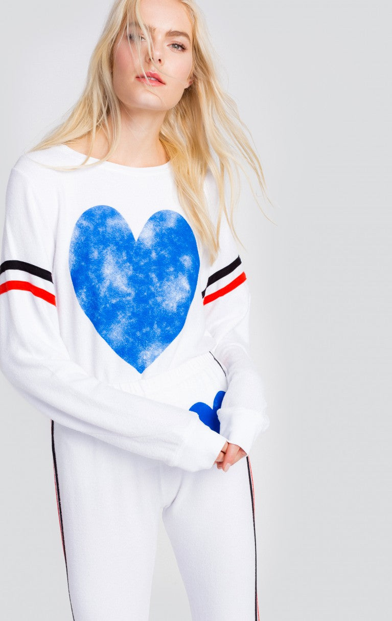 Classic Heart Baggy Beach Jumper (2760981774400)