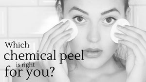 Choosing a chemical peel