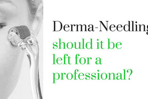 Can you do Derma-Needling at home safely?