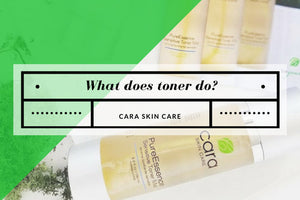 What does toner do?