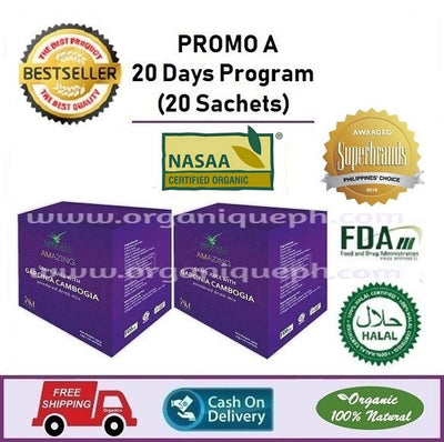 Amazing Garcinia Cambogia  20 Days Program (20 Sachets)