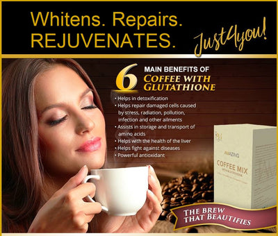 Amazing Coffee Mix with Glutathione