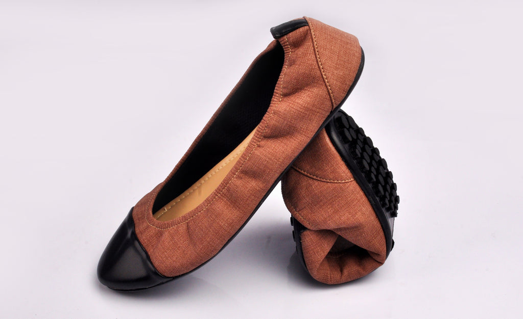 Craze Captoe Denim Brown