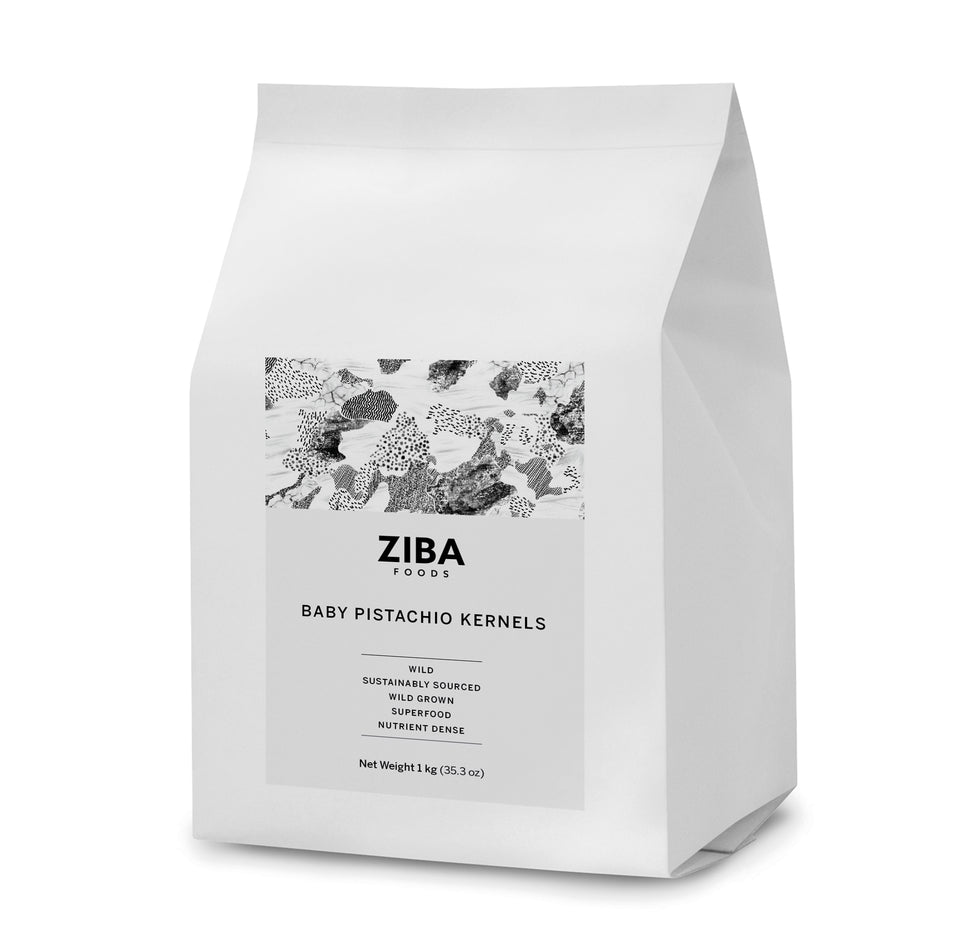 Baby Pistachio Kernels (Raw) - Ziba Foods - Heirloom Afghan Nuts and Dried Fruits