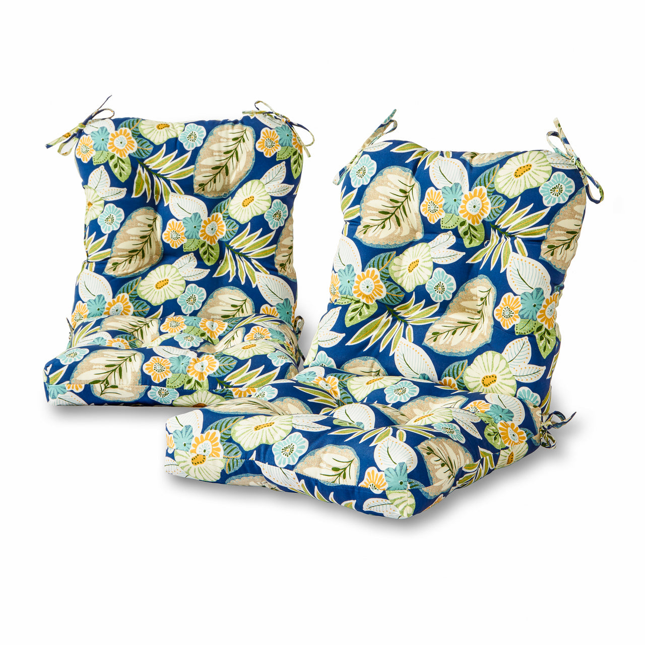 Greendale Home Fashions Marlow Outdoor Patio Chair Cushion Set Of 2