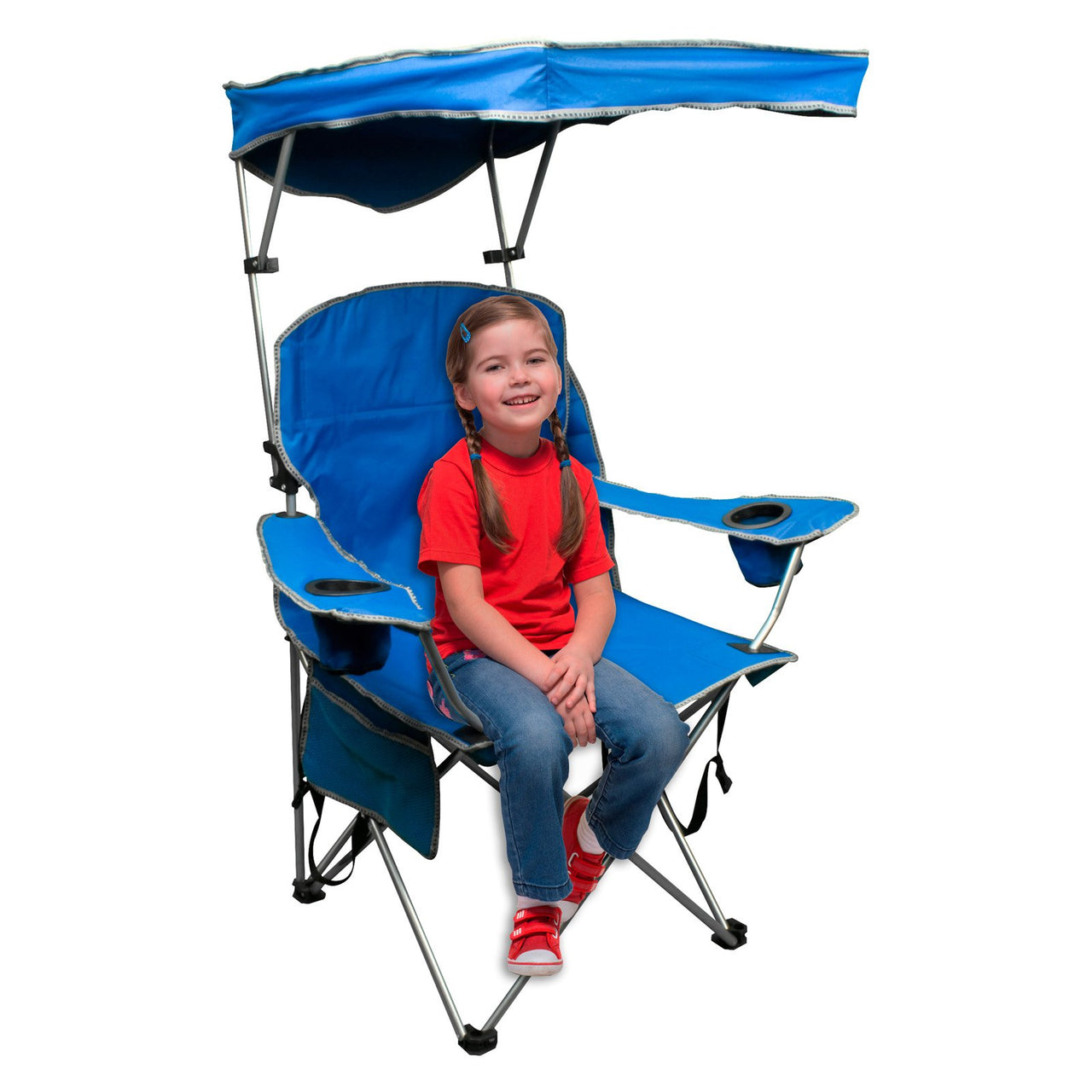 Prime Quik Shade Adjustable Canopy Outdoor Folding Camp Chair Spiritservingveterans Wood Chair Design Ideas Spiritservingveteransorg