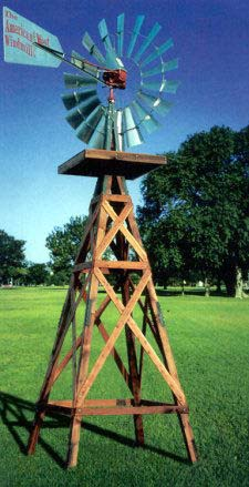 19 Foot tall America West Windmill Kit
