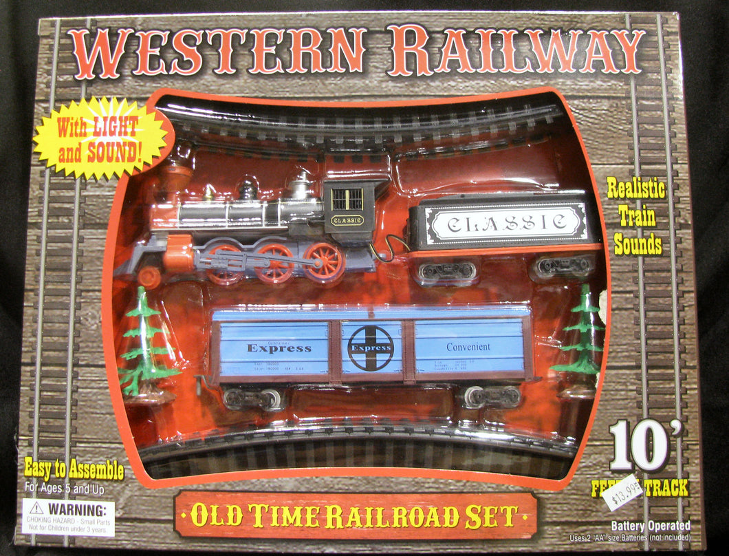 Western Railway Train Set