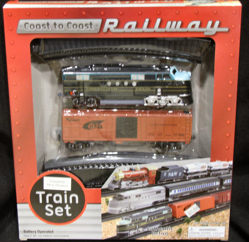 Coast to Coast Railway Train Set
