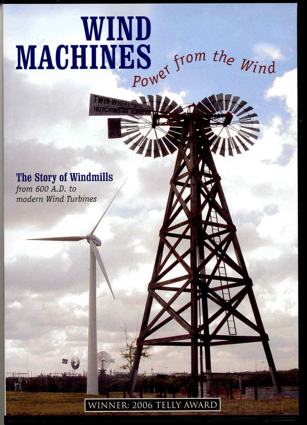 Wind Machines – Power from the Wind –DVD