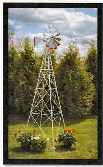 6 Foot Tall Decorative Windmill