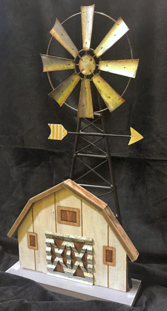 Windmill on Barn Decoration