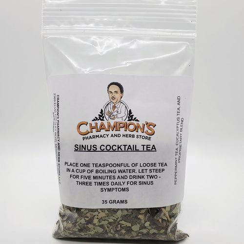 Champion's Sinus Cocktail Tea