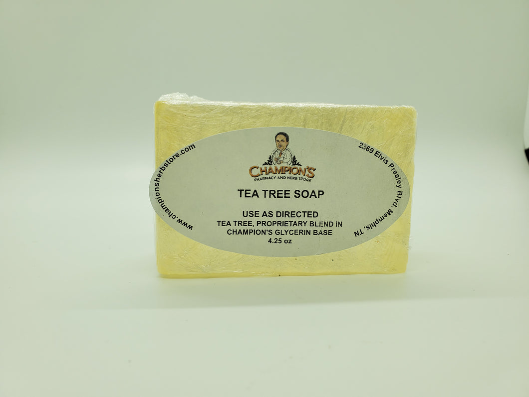 Champion's Tea Tree Soap 4.25oz