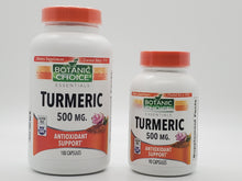 Load image into Gallery viewer, Botanic Choice Turmeric Capsules