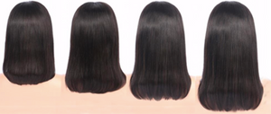 Silky Straight Lace Front Bob Wig