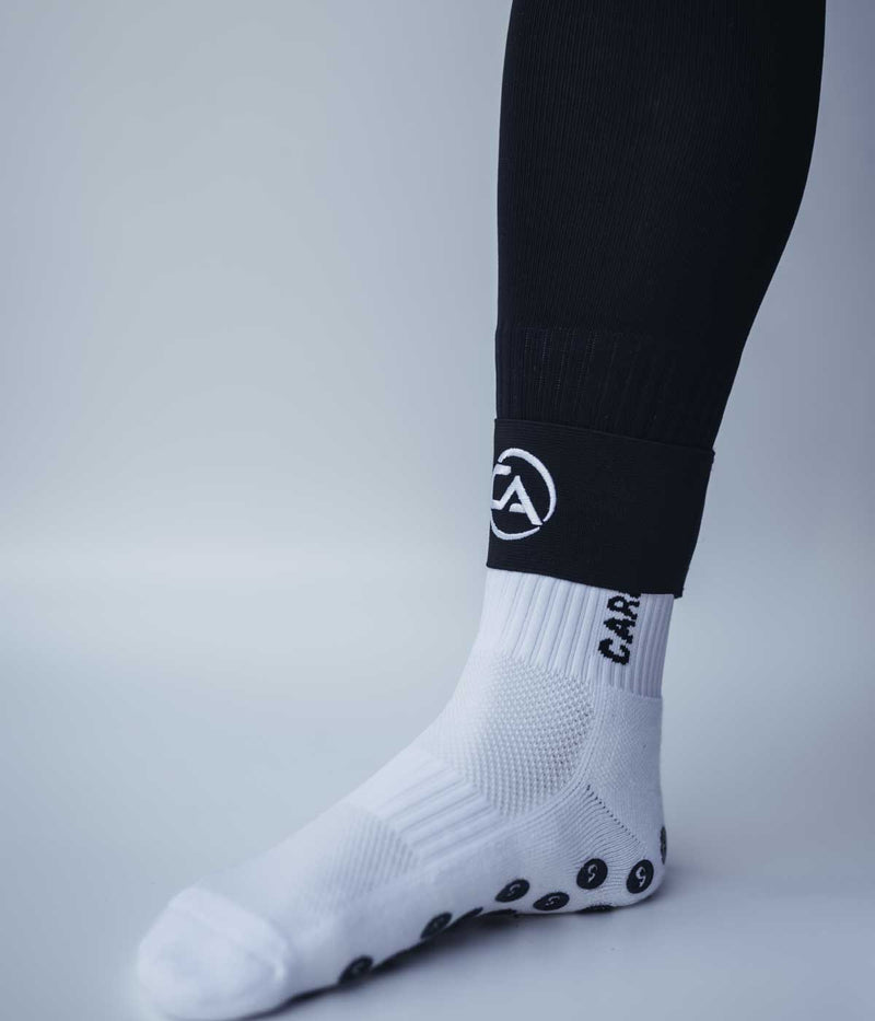 Shin Guard Stays - Carbon Athletic