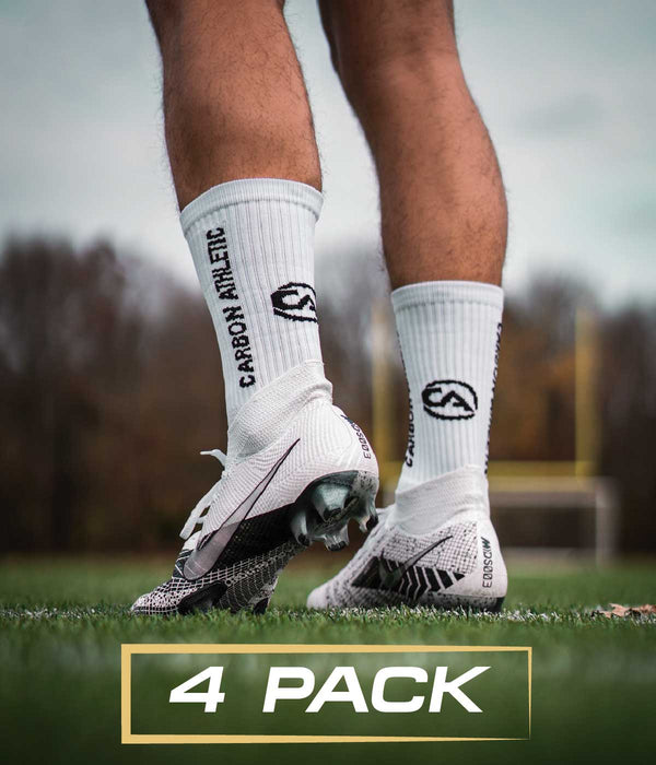 Grip Socks - 4 Pack - Carbon Athletic