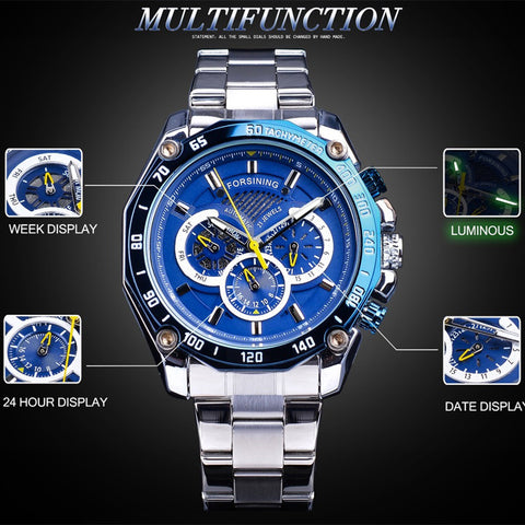 Infinite Mechanical Watch - tickersnspecs