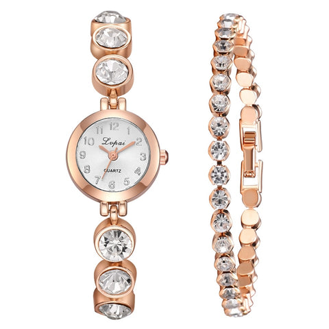 Angel Vow Quartz watch & Bracelet Set - tickersnspecs