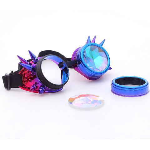 Color Burst Rave Goggles - tickersnspecs