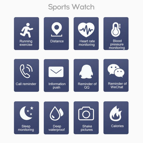 Image of Lifestyle Lift Fitness Watch - tickersnspecs