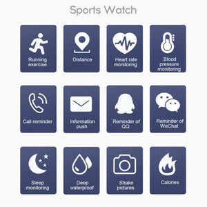 Lifestyle Lift Fitness Watch - tickersnspecs