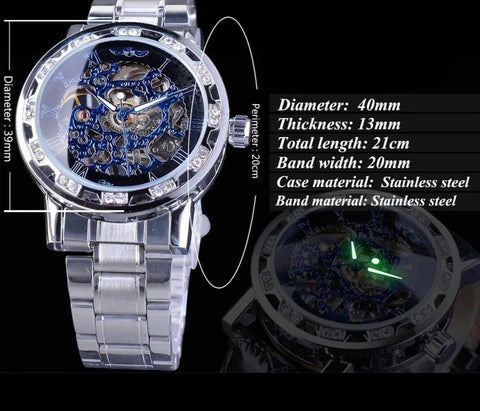 Tinted Vigor Mechanical Watch - tickersnspecs