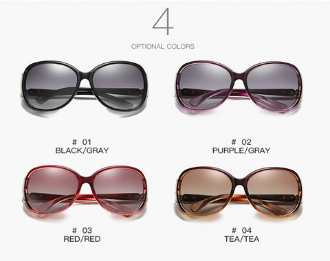 Image of Retro Classic Womens Sunglasses - tickersnspecs