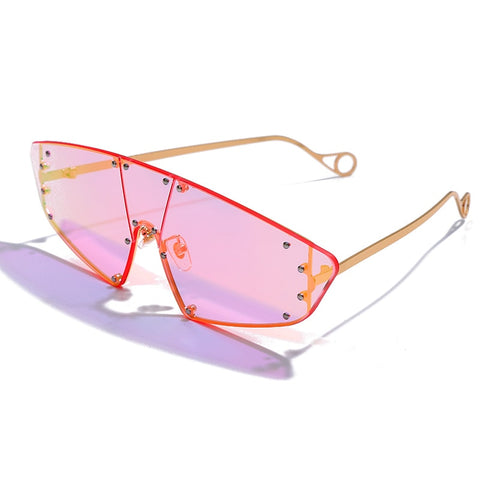 Image of Rivet Trend Sunglasses - tickersnspecs