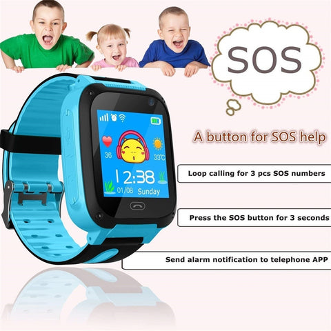 Kid Track Smart Watch - tickersnspecs