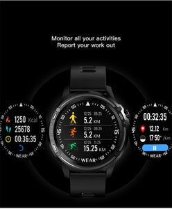 Sport Hawk Smart Watch - tickersnspecs