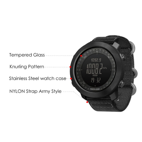 North Edge Extreme Sport Watch - tickersnspecs