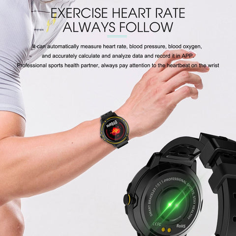 Victory V-5 Smart Health Watch - tickersnspecs