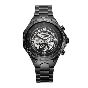 Onyx Sun Skeleton Watch - tickersnspecs