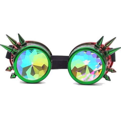 Image of Color Burst Rave Goggles - tickersnspecs