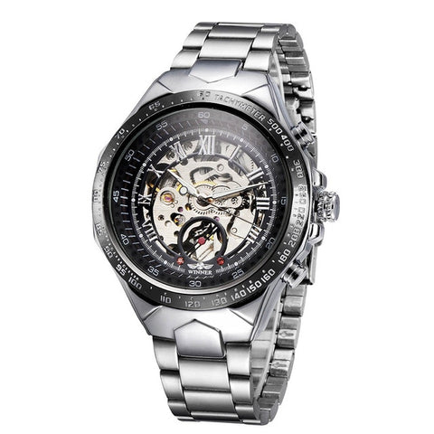 Image of Onyx Sun Skeleton Watch - tickersnspecs
